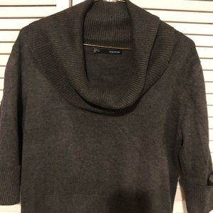 Maurices gray cowl neck sweater Sz XL